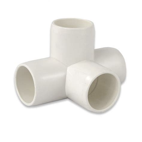 pvc furniture fitting side outlet tee