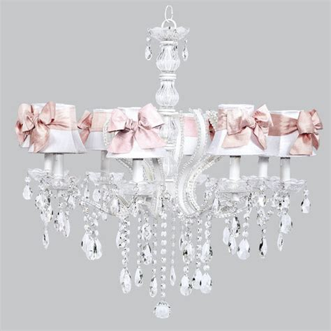 white and pink chandelier white pink chandelier light fixture