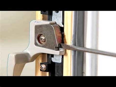 removing lock lever  wood casement  awning windows youtube