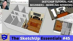Sketchup Tutorial For Beginners - Part 3