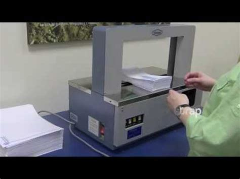paper banding machine venus packaging australia youtube