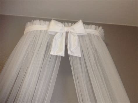 princess bed canopy crown with curtains sale white