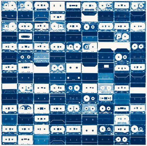 cassette tape cyanotypes colossal