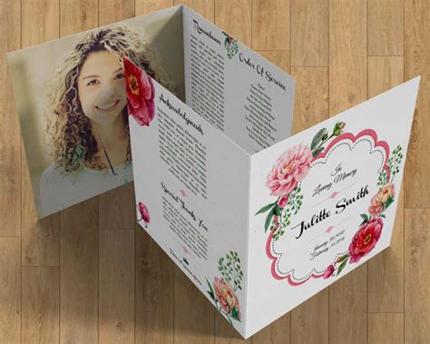 Memorial Brochure Templates Free by 37 Funeral Brochure Templates Free Word Psd Pdf Exle