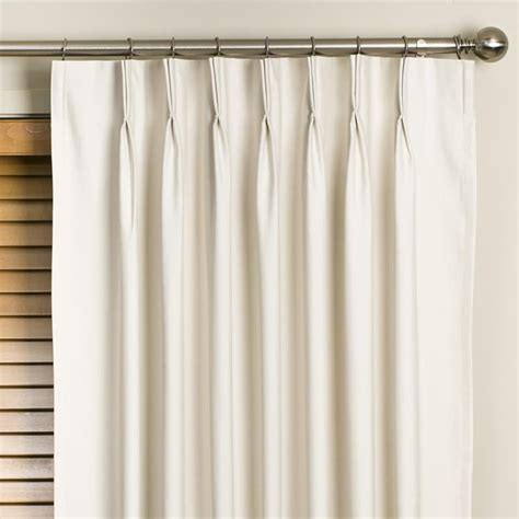Pinch Pleated Drapes Traverse Rod - decorations traverse rod drapes are option for
