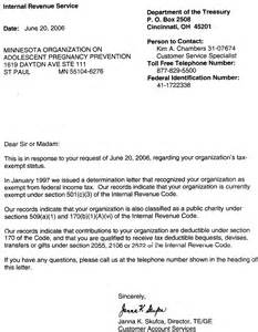 irs 501c3 determination letter sample poemdoc or