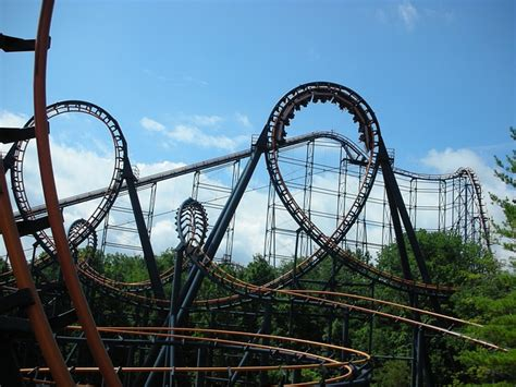 Roller Coaster Ride Amusement · Free Photo On Pixabay