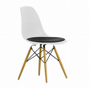 Eames Plastic Side Chair : eames plastic side chair dsw gepolstert h43cm vitra ~ Bigdaddyawards.com Haus und Dekorationen