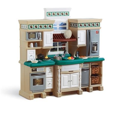 Kitchen Play Set by Step2 Lifestyle Deluxe Kitchen Set Ebay