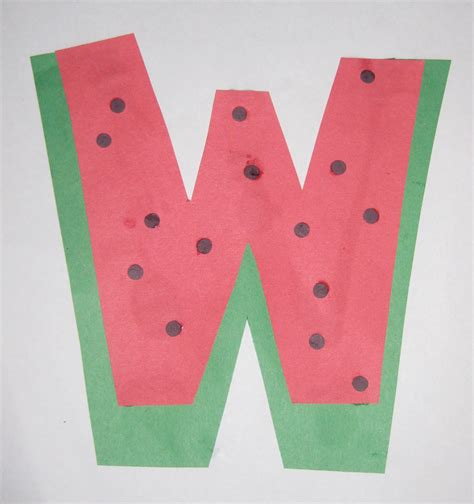 letter w crafts inspirations letter w week