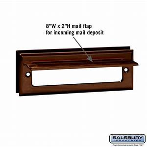mail slot standard letter size mailboxescom With letters mail slot