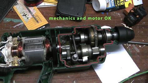 bosch hammer pbh  checking motor  interior