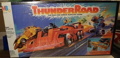 thunder road  ram  wreck survival board game