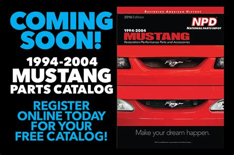 national parts depot  release    mustang parts