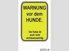 Warnung vor dem Hunde Bild lustichde