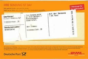 Dhl Paket Suche : post brief paket wohnung idee ~ Watch28wear.com Haus und Dekorationen
