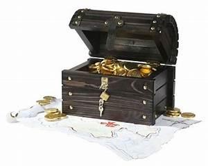 Truhe Mit Schloss : piratenschatztruhe in schwarz lasiert mit schloss und 2 schl sseln ~ Whattoseeinmadrid.com Haus und Dekorationen
