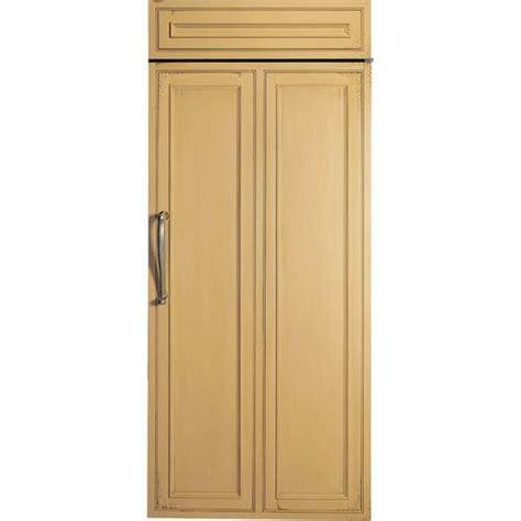 monogram  cu ft refrigerator custom panel ready