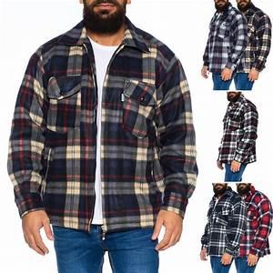 Holzfällerhemd Gefüttert Herren : herren thermohemd jacke hemd holzf llerhemd arbeitshemd warm gef ttert id472 ebay ~ Watch28wear.com Haus und Dekorationen