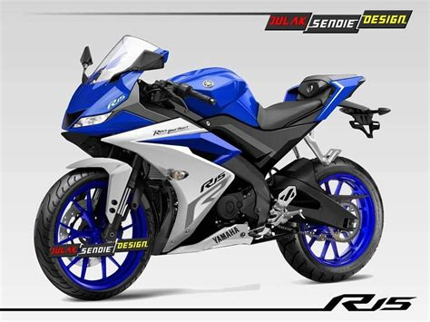 Modifae Yamaha Bikes R15 by Yamaha R15 V3 Rendered With Led Headls Cars Daily