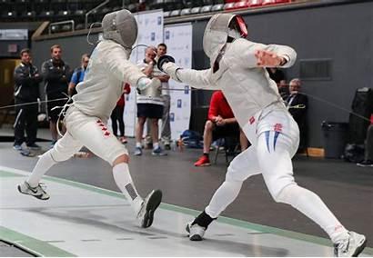 Fencing Brock National Canadian Championships University Host