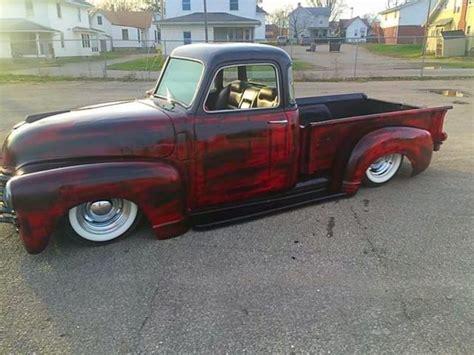 1950 chevy rat rod rod ratrod hotrod custom lead sled bagged 3100 pickup classic chevrolet