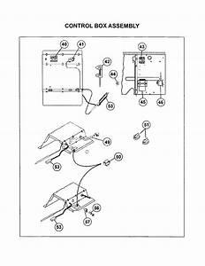 Control Box Assembly Diagram  U0026 Parts List For Model
