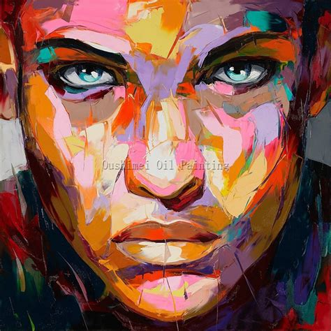 Free Shipping High Quality Abstract Portrait Oil Painting