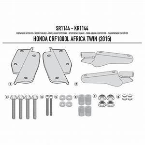 Givi Sr1144 Monorack Fitting Kit For Honda Crf1000l Africa