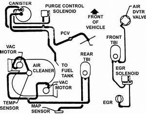1984 Corvette Vacuum Diagram