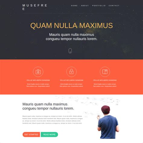 Free Muse Templates Free Muse