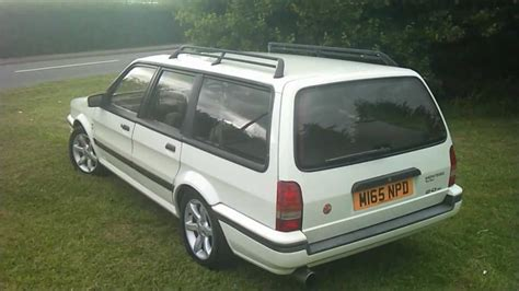 Montego MG Turbo 16v estate - YouTube