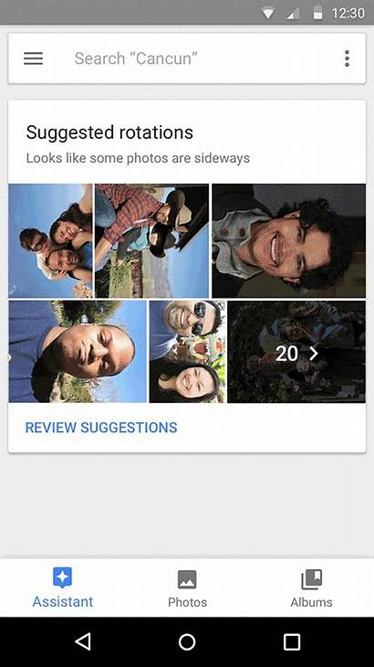 Google Rotate Features Sideways Down Frown Turn