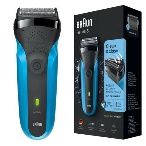 braun series mens rechargeable electric face stubble shaver