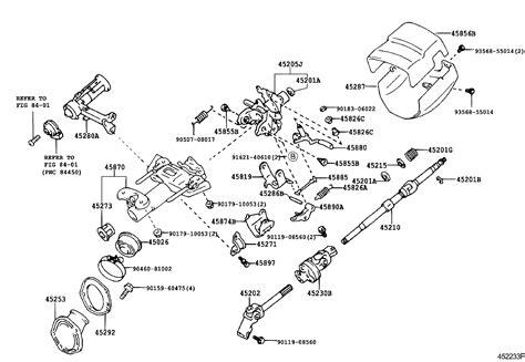 Toyota Avalonmcxr Bepnkq Powertrain Chassis Steering
