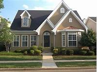 house color ideas Enchanting Exterior Paint Schemes: Ideas And Plan Forward : Dapper Tan Sherwin Williams Exterior ...