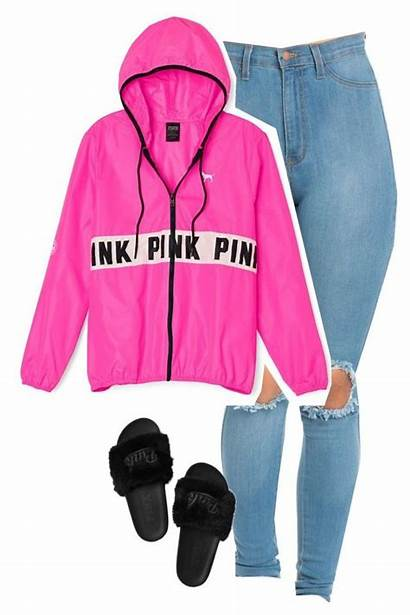 Outfits Pink Polyvore Victoria Dope Secret Clothing