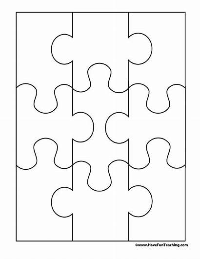 Puzzle Piece Template Printable Templates Templatelab