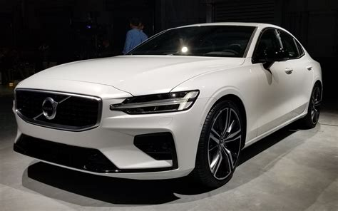 volvo auto 2019 volvo unveils all new us built 2019 s60 the car guide
