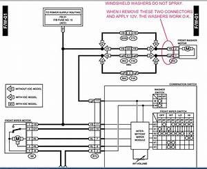 08 Subaru Impreza Front Wiper Motor Diagram