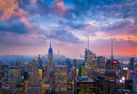 New York City Manhattan Skyline Wall Mural Photo Wallpaper