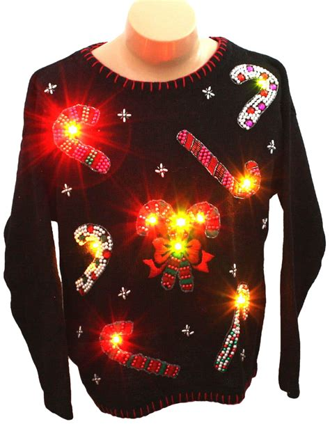 light up ugly christmas sweater victoria jones unisex