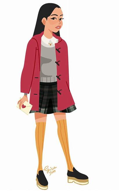 Lara Jean Outfits Boys Buzzfeed Clear Them