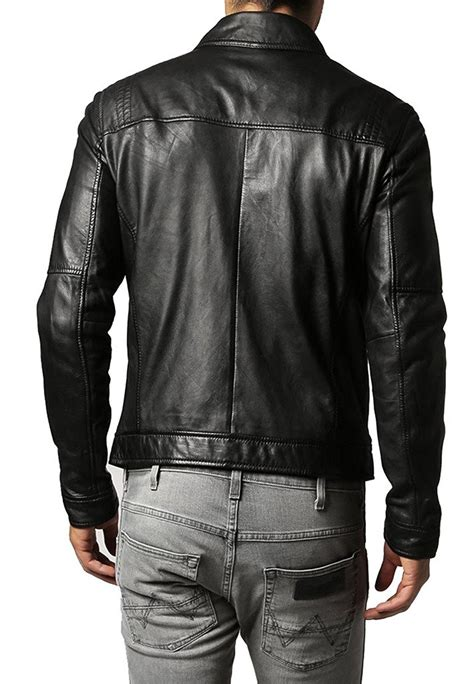 genuine leather motorcycle jacket genuine leather jackets for men amazon best seller