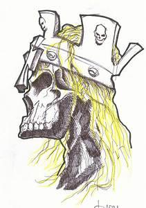 Triple H Skull by GeoQ on DeviantArt