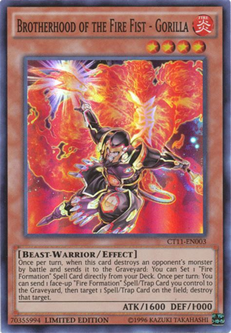 brotherhood of the deck brotherhood of the gorilla yu gi oh