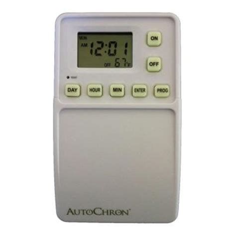christmas light timer home depot autochron wireless programmable wall switch timer white