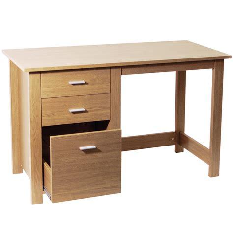 oak bureau desk montrose home office storage computer desk oak of70769 ebay