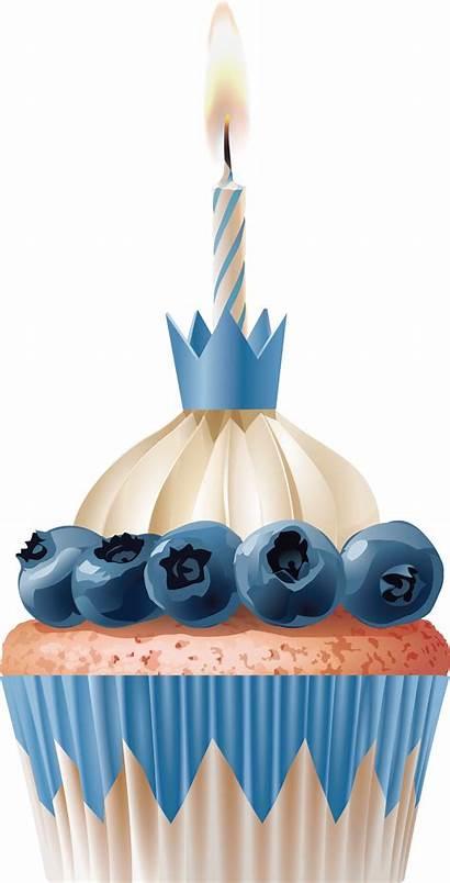 Cupcake Transparent Birthday Candles Lots Cake Cartoon