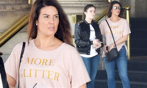 Rebekah Vardy rides in a horse-drawn carriage with ...